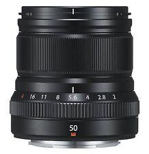FUJIFILM Single Focus Medium Telephoto Lens XF50mmF2 R WR B  Black 50mm New