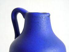 ROTH __ céramique Henkel Vase 106 16 __ Kobaltblau