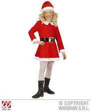 Childrens Santa Girl Costume l'onorevole Claus Natale Vestito 128Cm