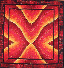New Quilt Pattern BARGELLO WITH A BANG 64x72