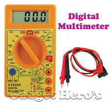 Digital Multimeter for Continuity Current & Voltage Measurement  Safe & Accurate