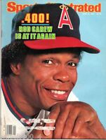 Sports Illustrated 1983 California Angels Rod Carew No Label Excellent