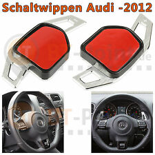 * AUDI DSG alu boutons Balancent Argent prolongation circuit wheel pagaie shift *