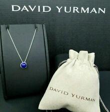 David Yurman Chatelaine Pendant Necklace with Lapis Lazuli