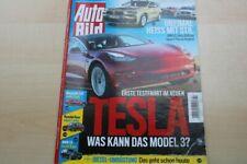 1) Auto Bild 07/2018 - Tesla Model 3 mit 261PS in  - BMW X4 in einer ersten Vors