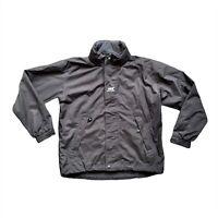Men's Helly Hansen Tech Performance Black Rain Waterproof Hooded Jacket Size S