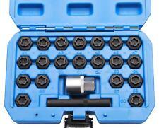 22tlg. Demontage Spezial-Adapter codierte Felgenschlösser geeignet für BMW