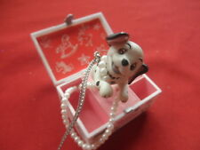 Disney 101 Dalmations Merry Christmas Tree Ornament Pearls Puppy