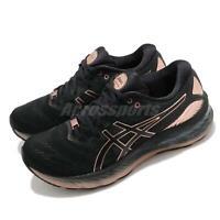 Asics Gel-Nimbus 23 Platinum Black Rose Gold Women Running Shoes 1012B013-001