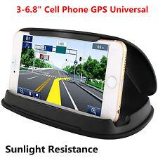 "Car Dashboard GPS Navigation Anti-Slip Silicone Mobile Phone Holder Mount 3-6.8"""