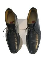 Cole Haan NikeAir Mens Sz 9.5 M US Waterproof Chukka Black Leather Boots