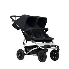 Poussette double Mountain Buggy Duet v3 Black - 2017