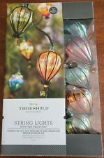 Threshold 10 Count String Indoor/Outdoor Lights Green Wire New in Box