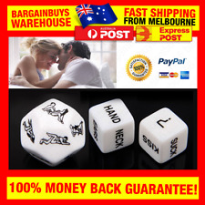3pcs Sizzling Sex Game Dice Erotic Fun Couples Love Game Romantic Sexy Gift