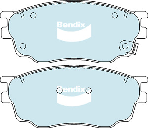 Brake Disc Pad Set Front Bendix DB1682 GCT For MAZDA 6 GG 2L 2.3L
