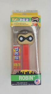 Pop! PEZ Robin Candy Dispenser Collectibles Limited Edition Box Damaged, Pez New