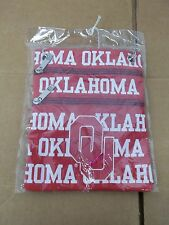 NWT Oklahoma Sooners Neck Wallet-Red-White-Purse-Bag-Tote