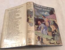 Elinor Brent-Dyer The New House at the Chalet School Reprint in D/J