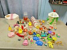 Strawberry Shortcake Gazebo Tomy Holly Hobbie Sesame Street Jar Toy Lot