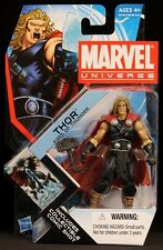 "2011 HASBRO MARVEL UNIVERSE SERIES 4 THOR AGES OF THUNDER 001 3 3/4"" FIGURE MOC"