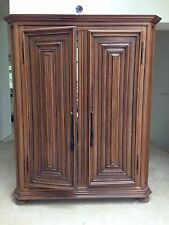 Italian Armoire Wardrobe Bar Display Cabinet