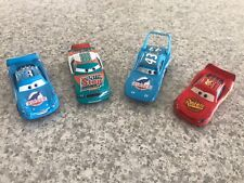Disney Pixar Cars Diecast Lot Dinoco Lightning Mcqueen The King Nascar Mud Wherl