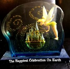 TINKER BELL DISNEY WORLD  FIGURINE - HAPPIEST CELEBRATION ON EARTH