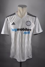 Derby County maillot 2010-11 Taille M Adidas FC Blanc Jersey