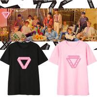 KPOP Seventeen T-shirt You Make My Day Concert Tshirt HOSHI THE8 DINO DK Tee