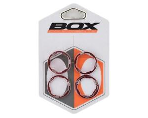 """Box One Stem Spacer Kit (Red) (5) (1"""") [BX-SS13001KT-RD]"""