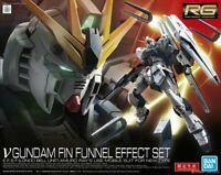 Bandai Hobby Nu Gundam & Fin Funnel Effect Set RG 1/144 Model Kit USA Seller