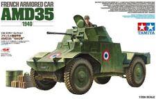 Tamiya 32411 1/35 Military Model Kit WWII French Armored Car AMD Panhard 35 1940