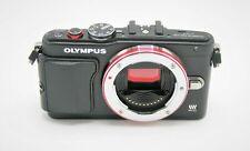 Olympus Pen Lite E-PL6 16MP Mirrorless Digital Camera Body Black