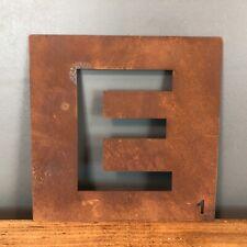 Rostbraun Metall Scrabble Buchstaben Fliesen Wanddekoration Kunst Persönlicher