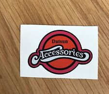 Datsun Accessories Stick On Sticker