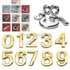 Hausnummer Hausnummernschild Türschild Tür Wand Dekor 0-9 Nummer