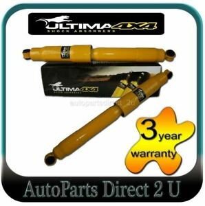 Rear Pair Ultima Shock Absorbers fits Holden Rodeo KB TF RA 1977-2008