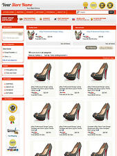 eBay Professional Design Listing Template and Store Layout Theme red,nice temp