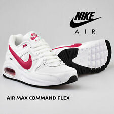 Nike Air Max Command Flex Big Kids Sneakers Shoe White Pink size 4 5 6 Y Youth