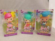 Barbie Video Game Hero Dolls Bundle Of 3 Figures New