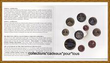 SLOVENIE Coffret BU 2015 - 10 Monnaies (dont 2 et 3 Euro commémoratives)  RARE !
