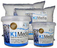 Evolution Aqua K1 Kaldness Media - 1L, 5L, 25L, 50L - for Static or Moving Bed