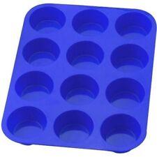 Cubertería de color principal azul de silicona
