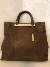 BALDININI leather handbag shoulder bag brown large NEW RRP 549EUR