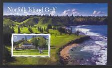 AUSTRALIA 2018 NORFOLK ISLAND MINIATURE SHEET GOLF UNMOUNTED MINT, MNH