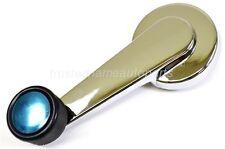 For Chevy Gmc Inside Door Window Crank Handle Chrome Black Knob Left Or Right