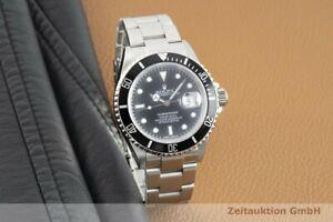 Rolex Submariner Date Automatik Edelstahl Herrenuhr Oyster Ref. 16610T M-Serie
