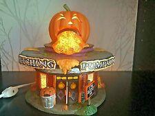 "Department 56 2011 ""Retching Pumpkin Diner"" #4020231 Rare! Retired 2013"