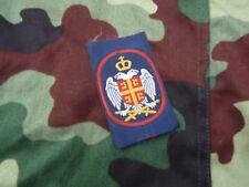 Patch armée Serbe des Krajina brodé  conflit des balkans 1991 - 1995