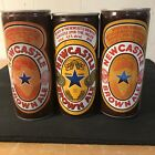 New Castle Brown ale Beer Cans (lot of 3 different cool old cans)